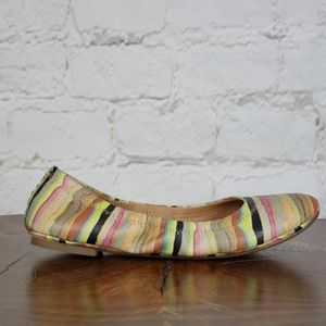 Lucky Brand multi-color ballet flats size 7.5